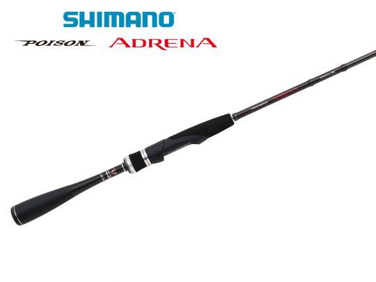 Shimano Poison Adrena Spinning Padrn270m Akvasport Com