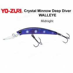 Воблер Yo Zuri Crystal Minnow Deep Diver WALLEYE 110F R1206-MN