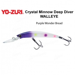 Воблер Yo Zuri Crystal Minnow Deep Diver WALLEYE 110F R1206-PWB