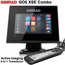 SIMRAD GO5 XSE + Active Imaging 3-in-1 Transducer