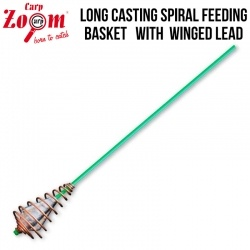 Carp Zoom LC Spiral Feeding Basket With Lead | Антиусукващо с олово