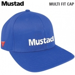 Шапка Mustad Multi Fit Cap Blue MCAP04-BU