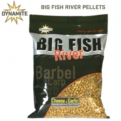 Пелети Dynamite Baits Big Fish River Pellets 1.80kg Cheese and Garlic