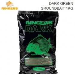 Захранка Ringers Dark Green Groundbait 1kg | PRNG22