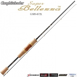 Graphiteleader 18 Super Bellezza GSBS-672L | Спининг за пъстърва