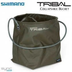 Сгъваема мека кофа Shimano Tribal Sync Gear Collapsible Bucket OCD | SHTSC28