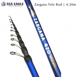 Карбонов телескоп за риболов с бомбарда Sea Eagle Zargana New 4.20m 40-80g