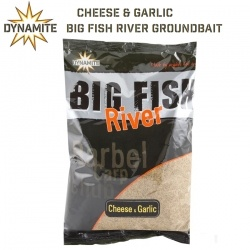 Захранка Dynamite Baits Big Fish River Cheese & Garlic Groundbait | DY1371