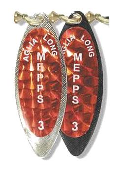 Mepps Aglia Long Redbo Silver