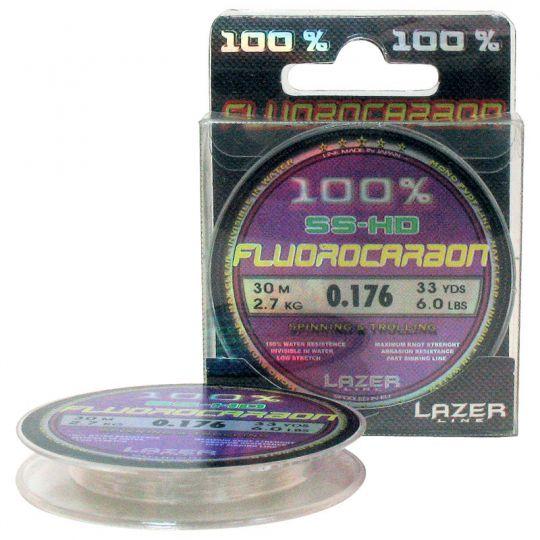 Флуорокарбоново влакно Lazer Fluorocarbon SS-HD (30м)