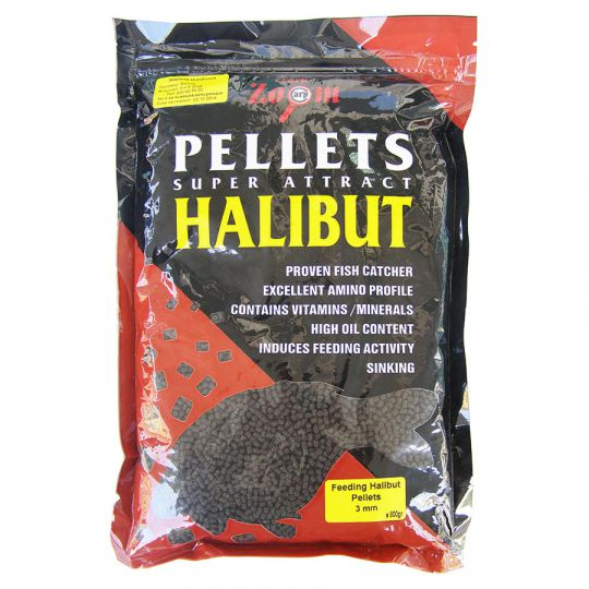 Пелети Carp Zoom Feeding Halibut Pellets