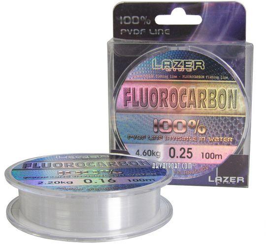 Флуорокарбоново влакно Lazer Fluorocarbon PVDF (100м)