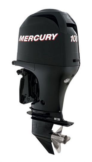 Двигател Mercury F100 ELPT EFI (дълъг ботуш+дистанц.+хидравлика)