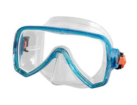 Детска силиконова маска Beuchat Oceo Junior (синя рамка)
