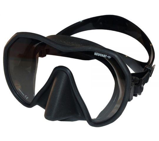 Силиконова маска Beuchat MaxLux (черна)