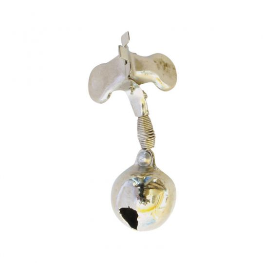 Звънче с щипка 9001 - метално единично