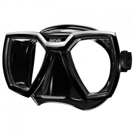 Силиконова маска Seac Sub Hero (сива рамка)