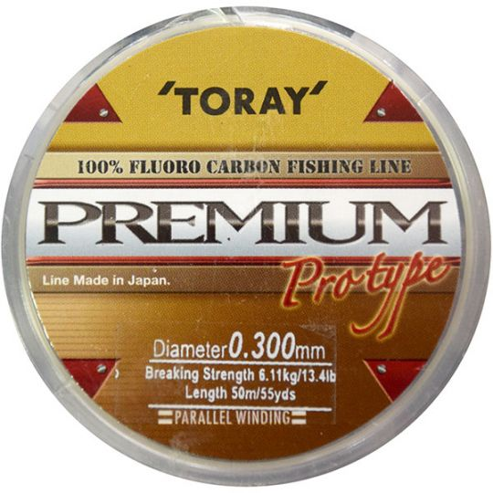 Флуорокарбоново влакно Toray Premium Fluorocarbon (50м)