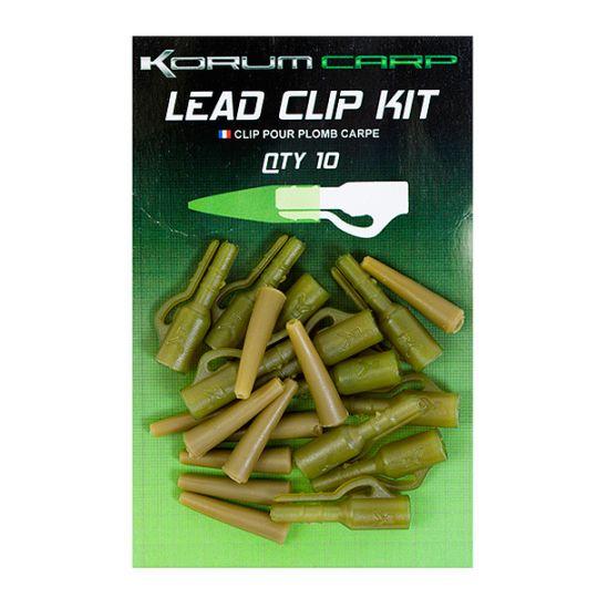 клипс+шлаух конусовиден Korum Lead Clip