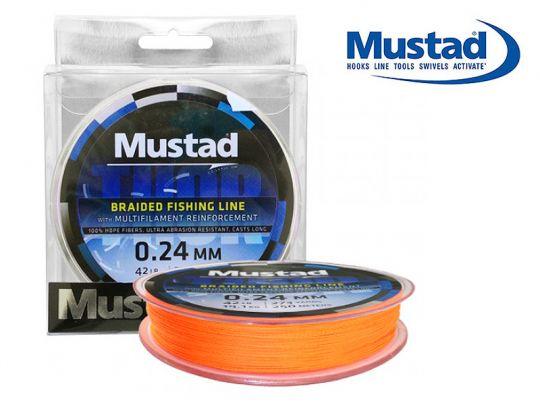 плетено влакно Mustad Thor ML014 Orange 110м