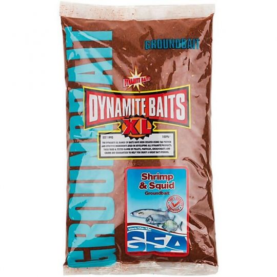 Захранка Dynamite Baits Sea Groundbait Shrimp & Squid