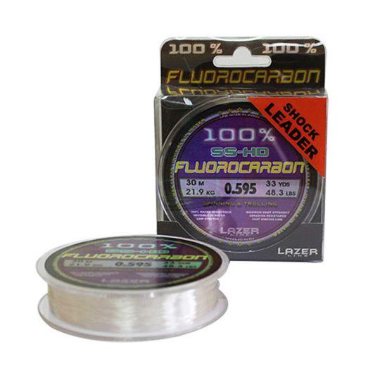 флуорокарбоново влакно Lazer Fluorocarbon SS-HD Shock Leader