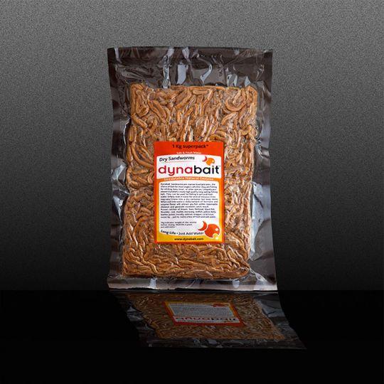 сушени морски червеи Dynabait Freeze Dried Sand Worms 1 кг