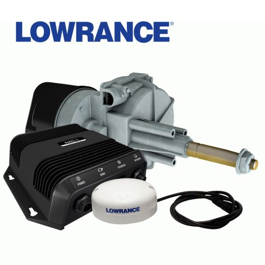lowrance outboard pilot cable steering pack
