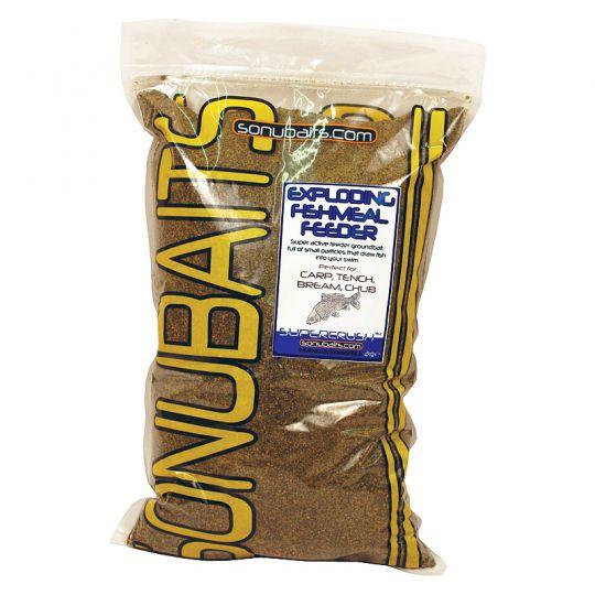 фидер смес Sonubaits Exploding Fishmeal Feeder