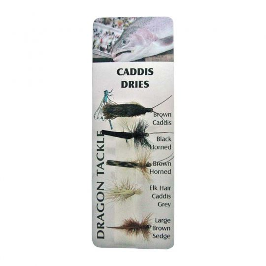 комплект мухи Caddis Dry Fly