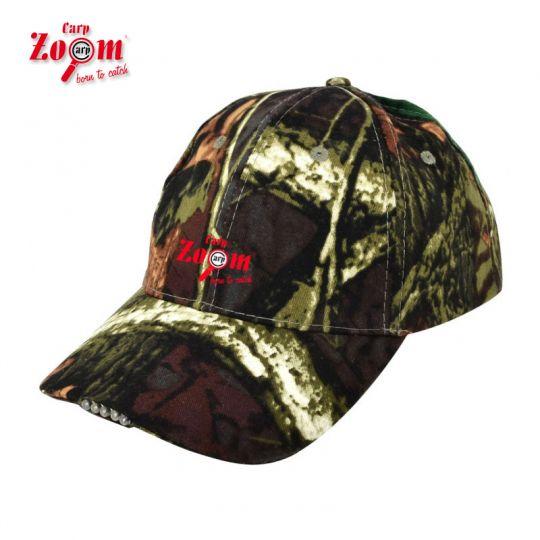 шапка Carp Zoom 5LED Camou Cap