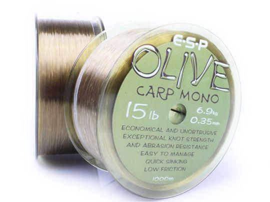 влакно ESP Olive Carp Mono 1000