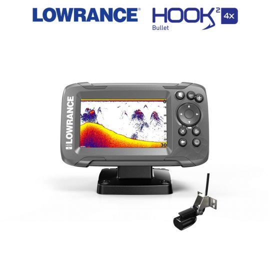 Lowrance HOOK²-4x Bullet