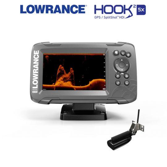 Lowrance HOOK²-5x SplitShot GPS Plotter