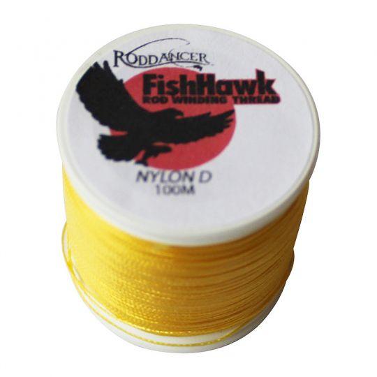 fishHawk Nylon Whipping Thread Goldenrod