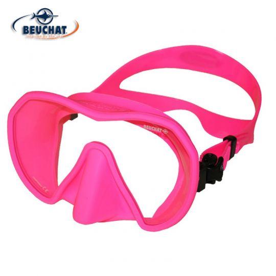 силиконова маска Beuchat MaxLux S (розов силикон)