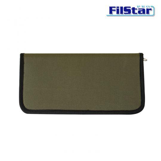 Класьор за поводи Filstar Deluxe Canavas Bound Rig Wallet