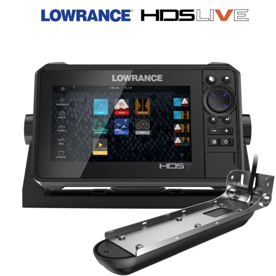 Lowrance HDS 7 LIVE + сонда Active Imaging 3-в-1