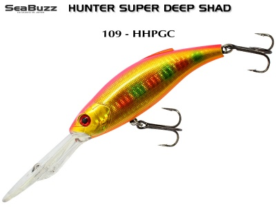 Sea Buzz HUNTER Deep Shad SDR 035 - MKIB