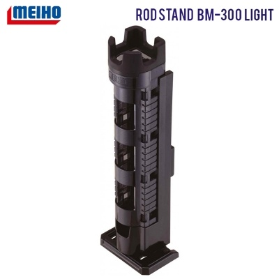 MEIHO Rod Stand BM-300 Light | Clear Black | Стойка за въдица