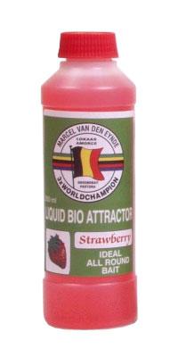 Течен ароматизатор Van den Eynde Carp Academy Liquid Bio Attractor Strawberry (ягода)
