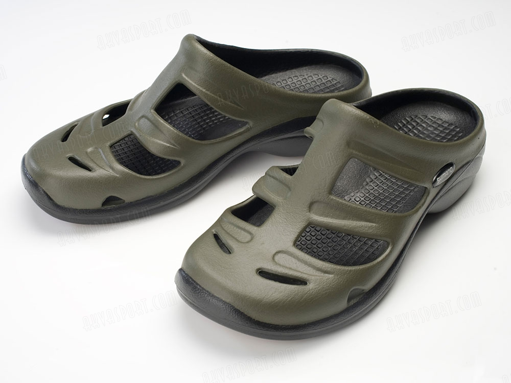 Shimano Evair Fishing Marine Sandals Green - AkvaSport.com 38f629f76cd