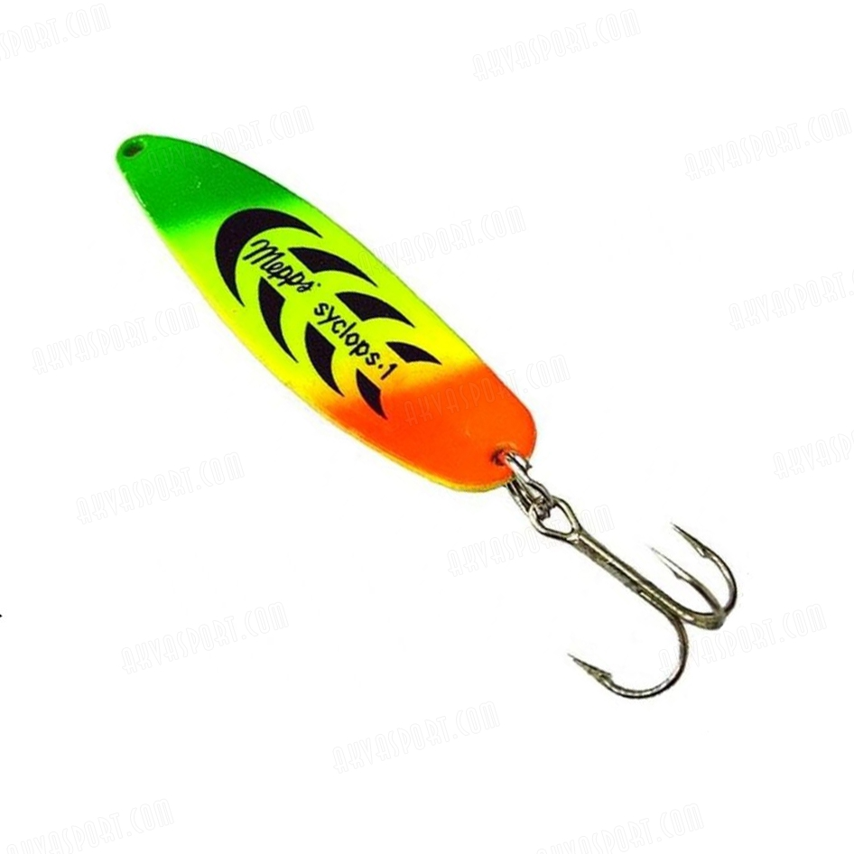 Mepps syclops tiger for Mepps fishing lures