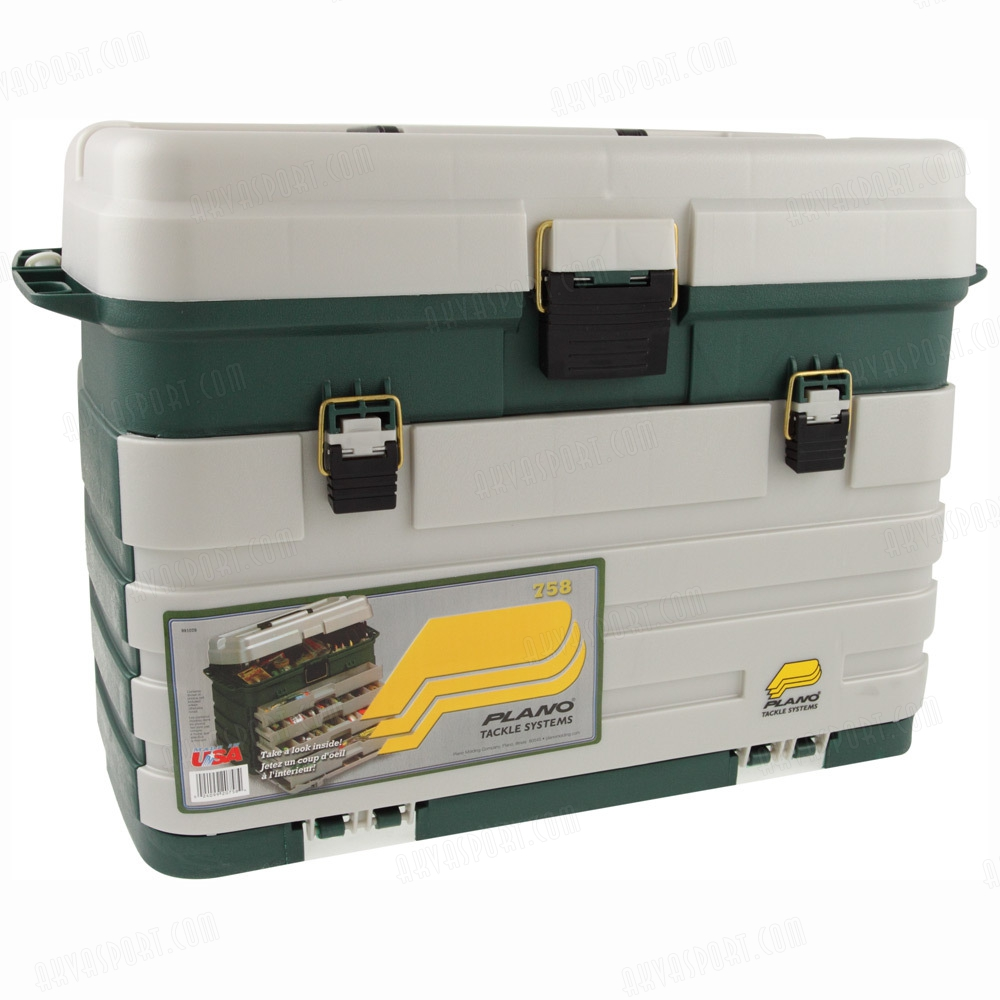 Plano 758 005 four drawer tackle system for Plano fishing boxes