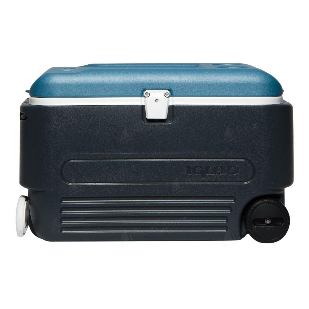 3ed662f62a7 Cooler Igloo MaxCold 60 Roller - Jet | AkvaSport.com