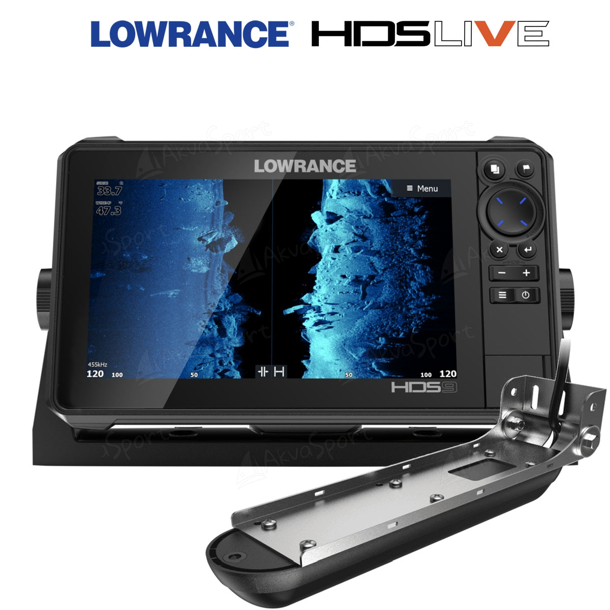 Lowrance Hds 9 Live With Active Imaging 3 In 1 Transducer