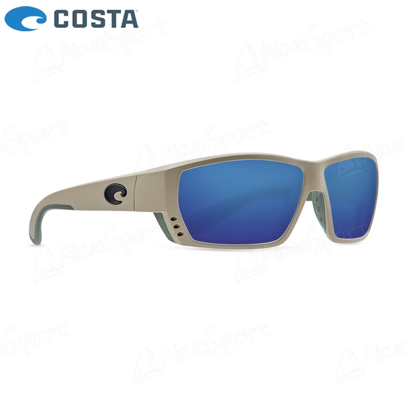 ca6208d2637 Sunglasses Costa Tuna Alley - Matte Sand - Blue Mirror 580G ...