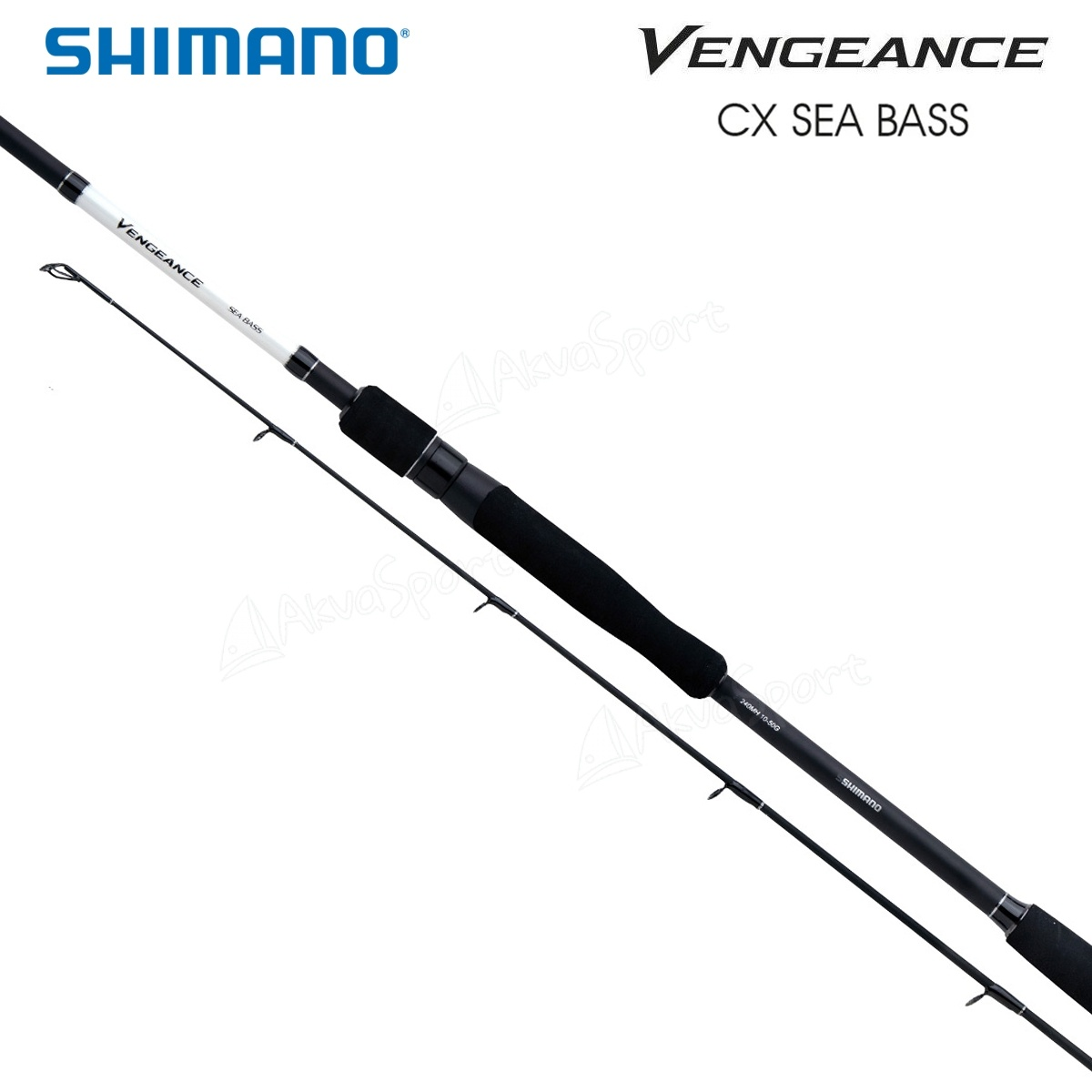 Shimano Vengeance CX Spin Sea Bass 2,10m 2,40m 2,70m 7-35g 10-50g 15-60g NEW OVP