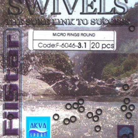 Халки цели кръгли F-6046 3.1 мм