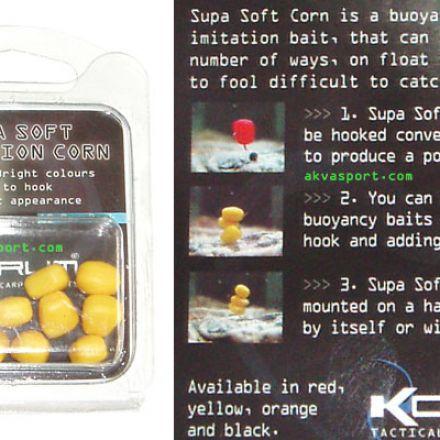 Изкуствена царевица жълта Korum Supa Soft Imitation Corn